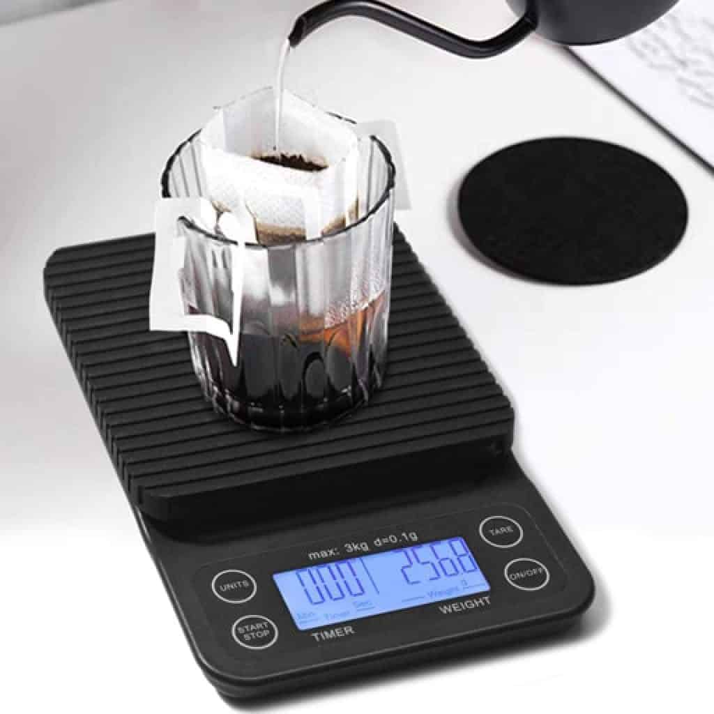 Coffee Scale with Timer - Gifts for Coffee Lovers