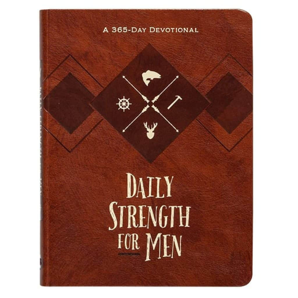 Daily Strength for Men - Christian Gifts for Men