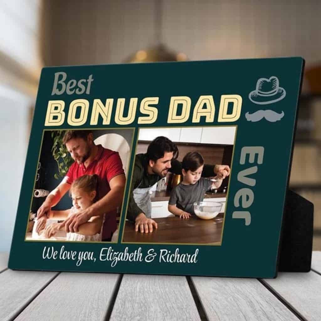 Desktop Plaque - Christmas gifts for dad
