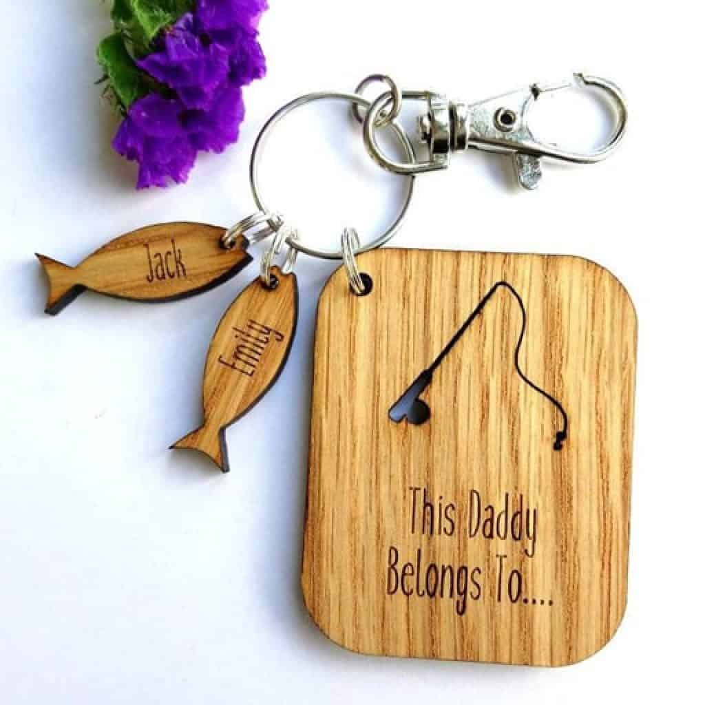 Fishing Keychain - Christmas gifts for dad