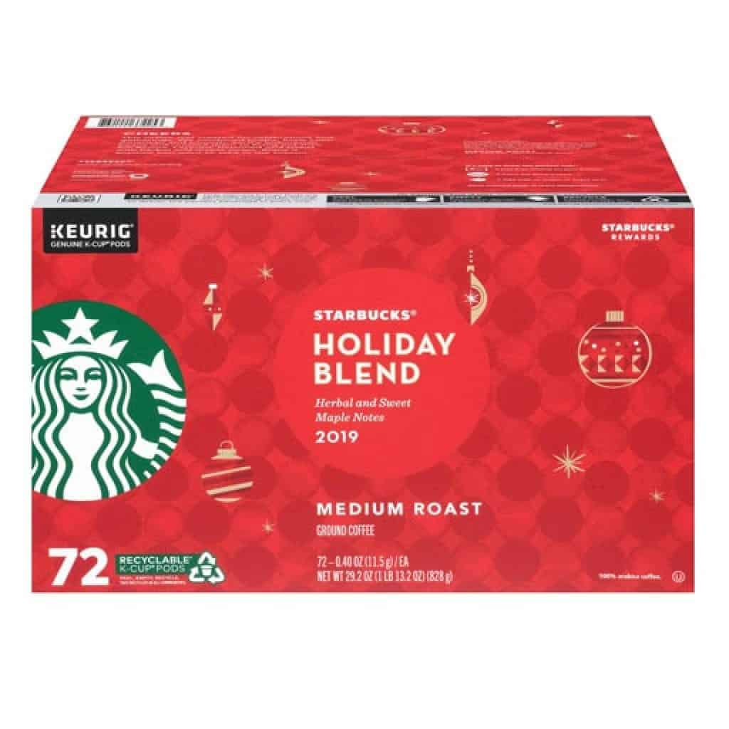 Holiday Blend K Cup Pods