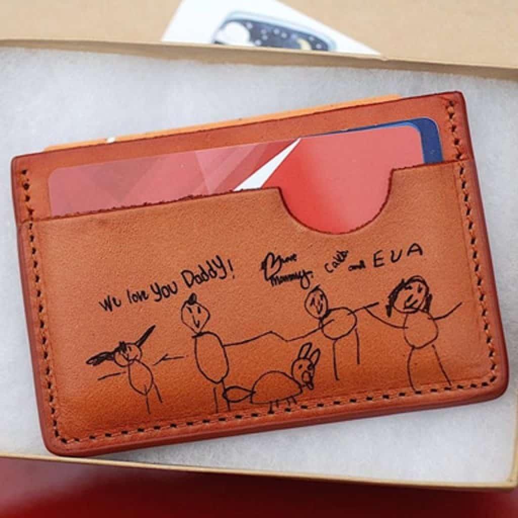 Kid Handwriting Wallet