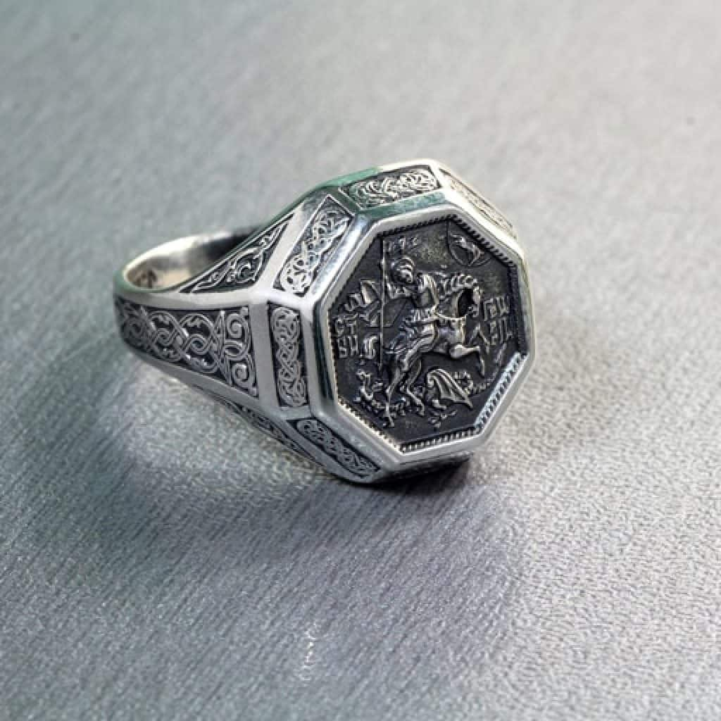 The Saint George Ring