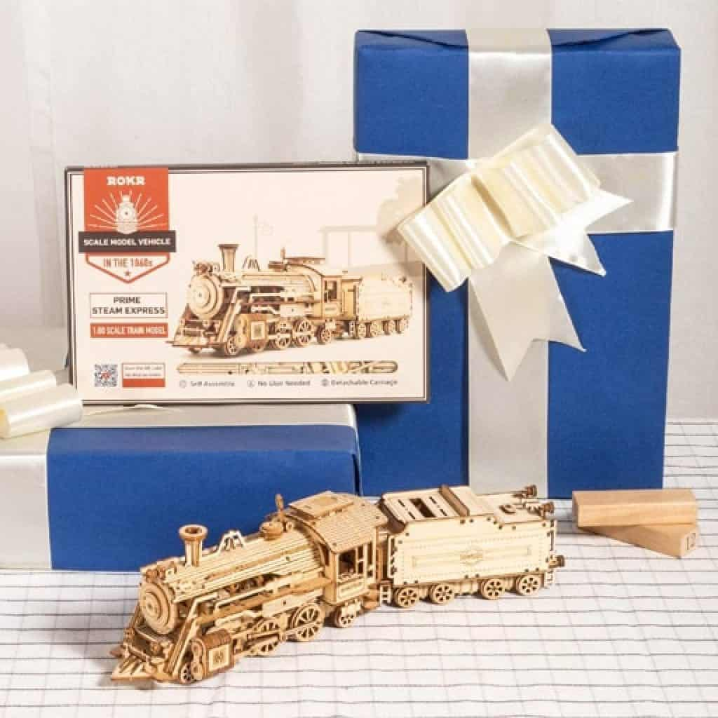 Train Models Kits - Christmas gifts for dad