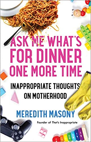 funny gifts for mom: ask me what's for dinner one more time book