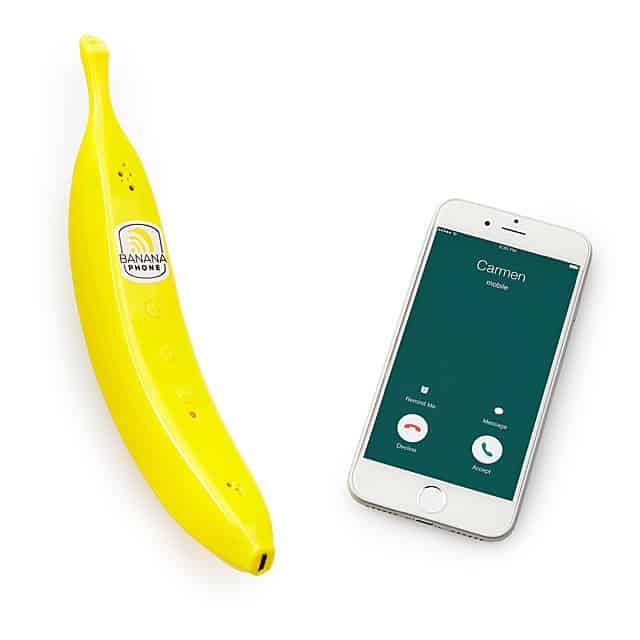 good white elephant gifts: bluetooth banana phone