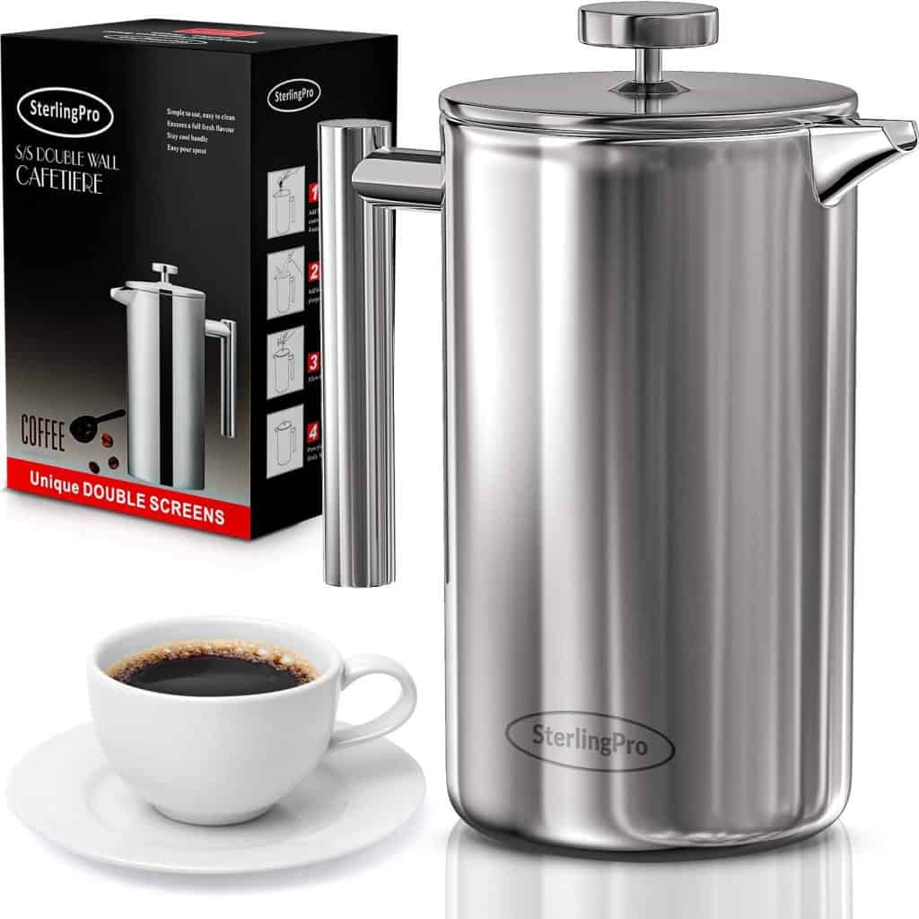 french press coffee maker - gifts for coffee lovers