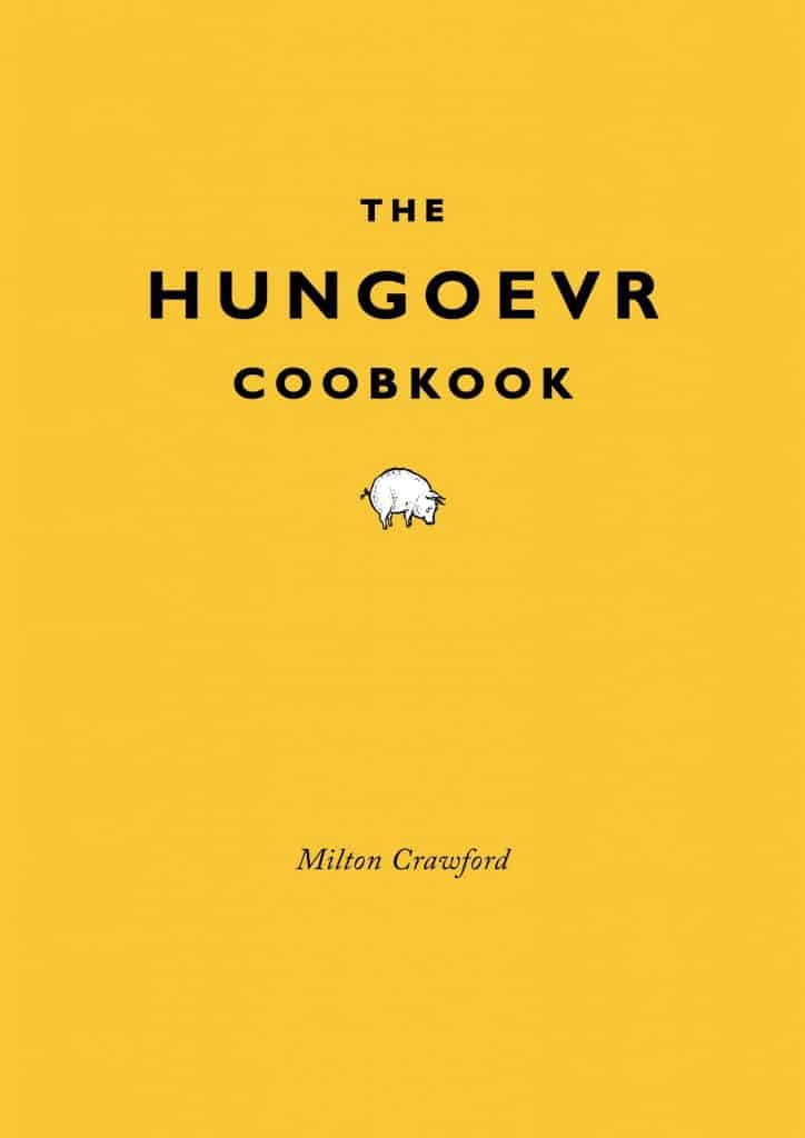 good white elephant gifts $10: the hunger cookbook