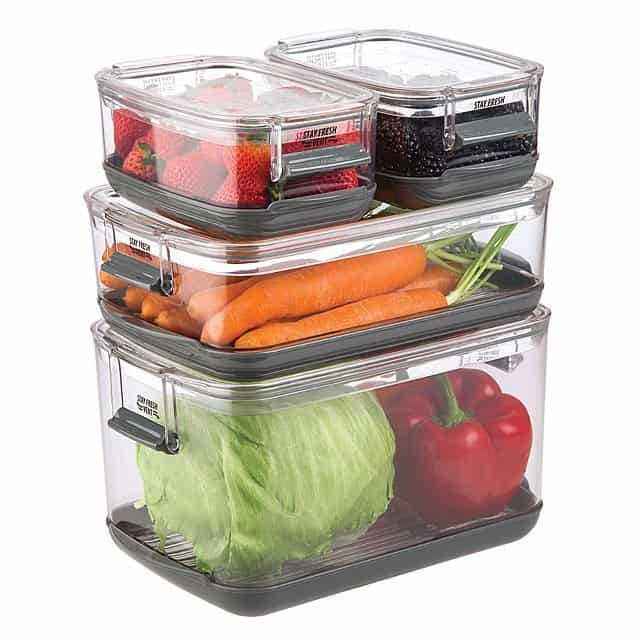 gifts for cooks: veggie smart storage containers