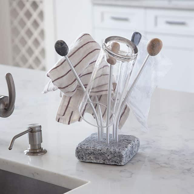 kitchen christmas gifts: stone drying rack