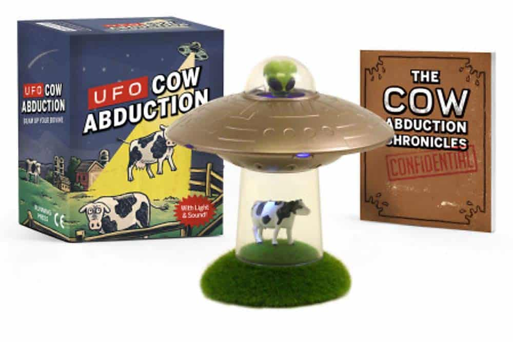 fun gifts: UFO cow abduction: beam up your bovine