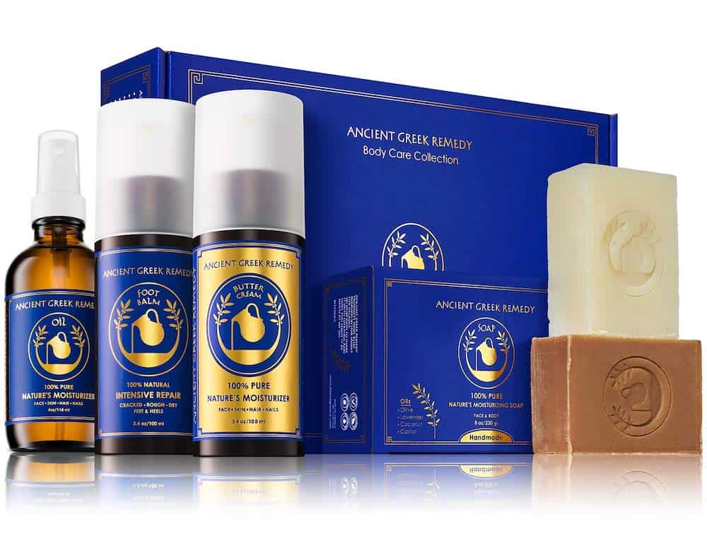 Ancient Greek Remedy Organic Spa Skin Care Gift Set For Pregnant Daughter In Law