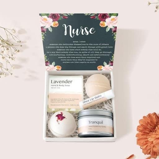 nurse graduation gift idea - Appreciation Gift Box Set
