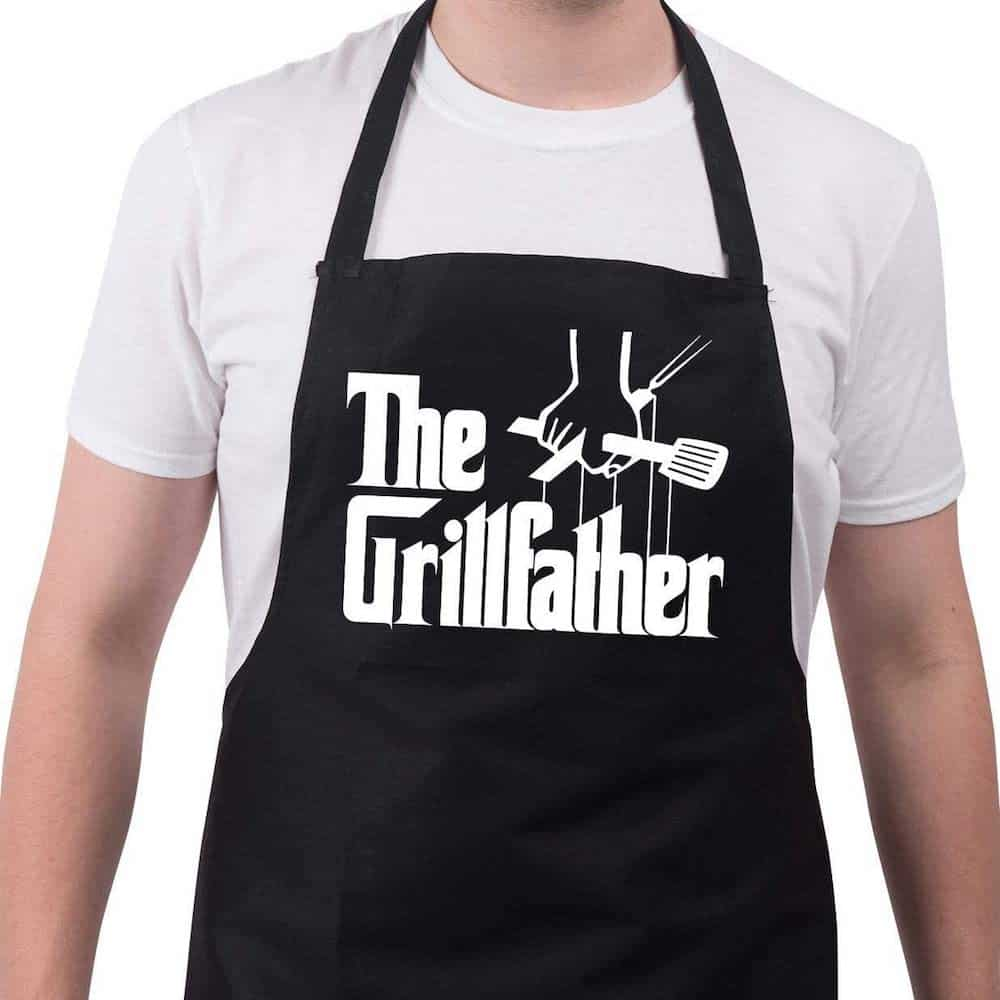 BBQ Funny Grill Aprons for Men The Grillfather Men's Grilling Gifts
