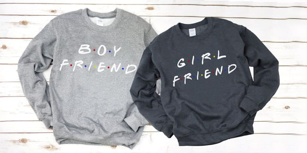 cute long distance relationship gifts: Couple Sweaters