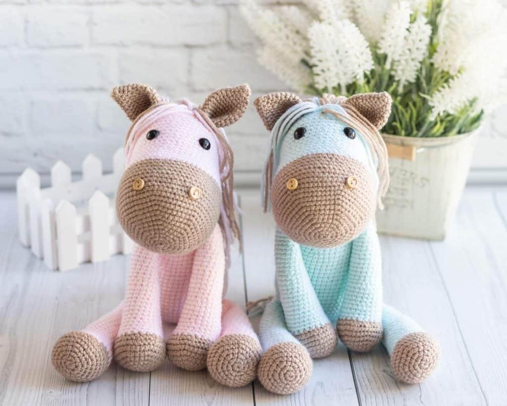 Crochet Amigurumi Pony - gifts for horse lovers