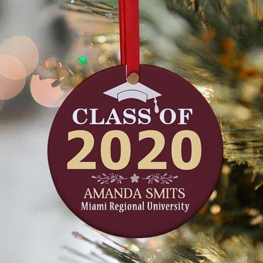 nursing school graduation gift - Custom Year Graduation Ornament