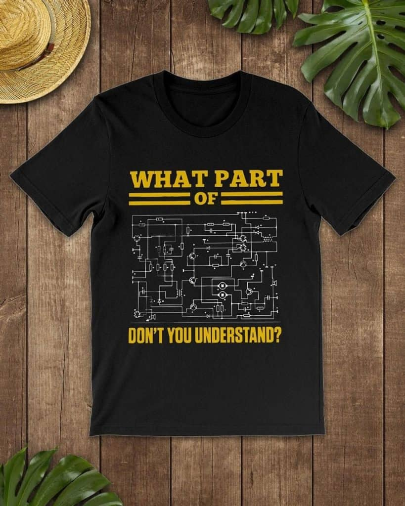 Gifts for engineers-Electrician Shirt