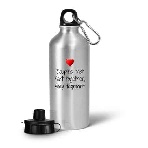 Funny Love Water Bottle - funny gifts for girlfriend
