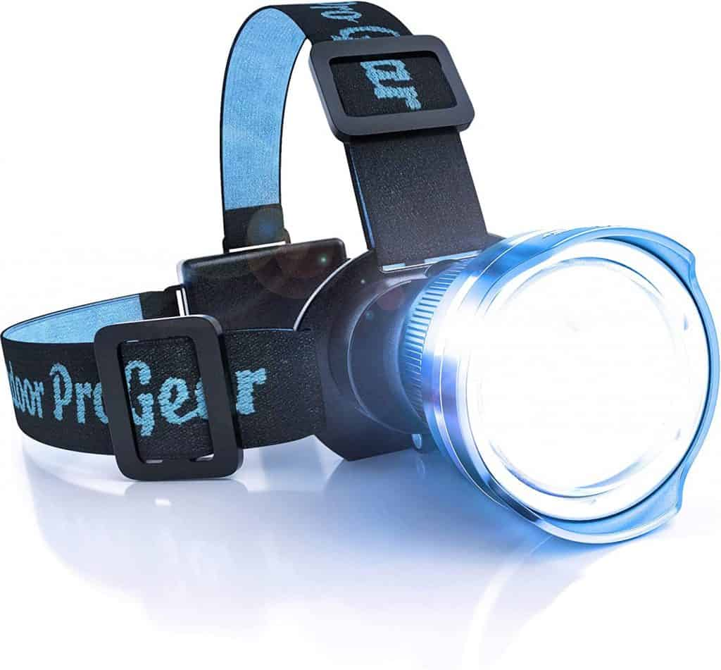 gift for outdoorsman: Head Lamp