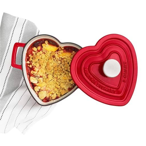 Heart-Shaped Casserole - things to get for your girlfriend