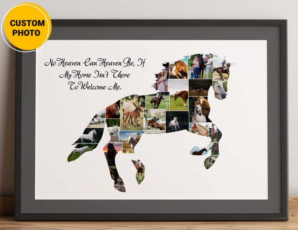custom horse photo - gifts for horse lovers