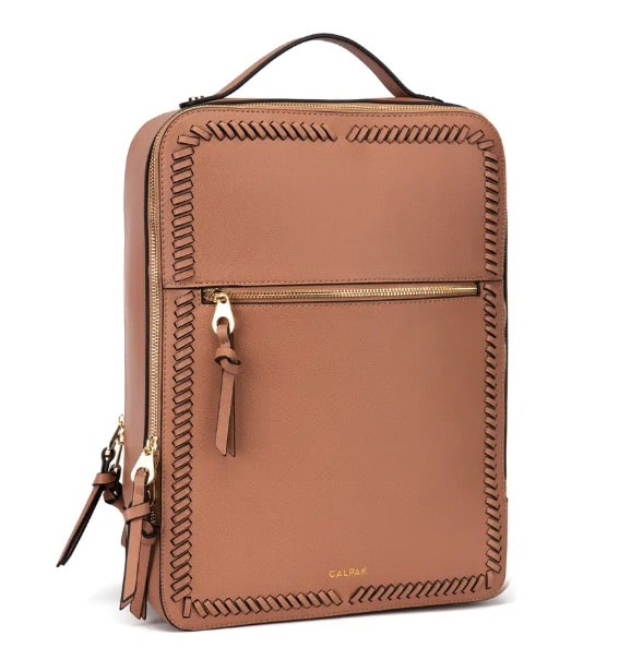 Kaya Faux Leather Laptop Backpack For Daughter-in-Law