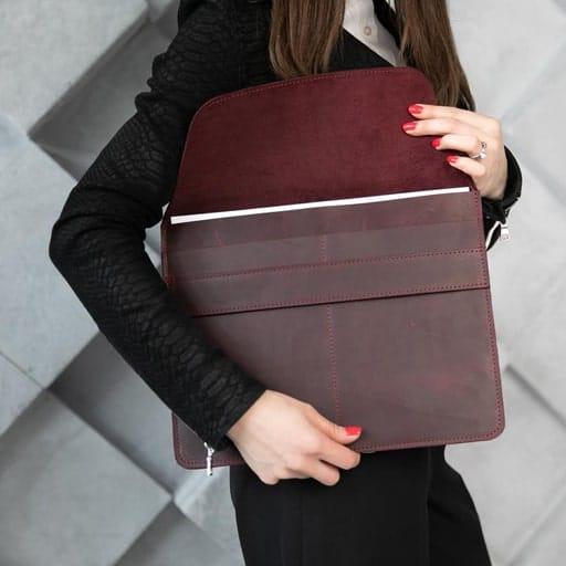 Leather Portfolio - college graduation presents