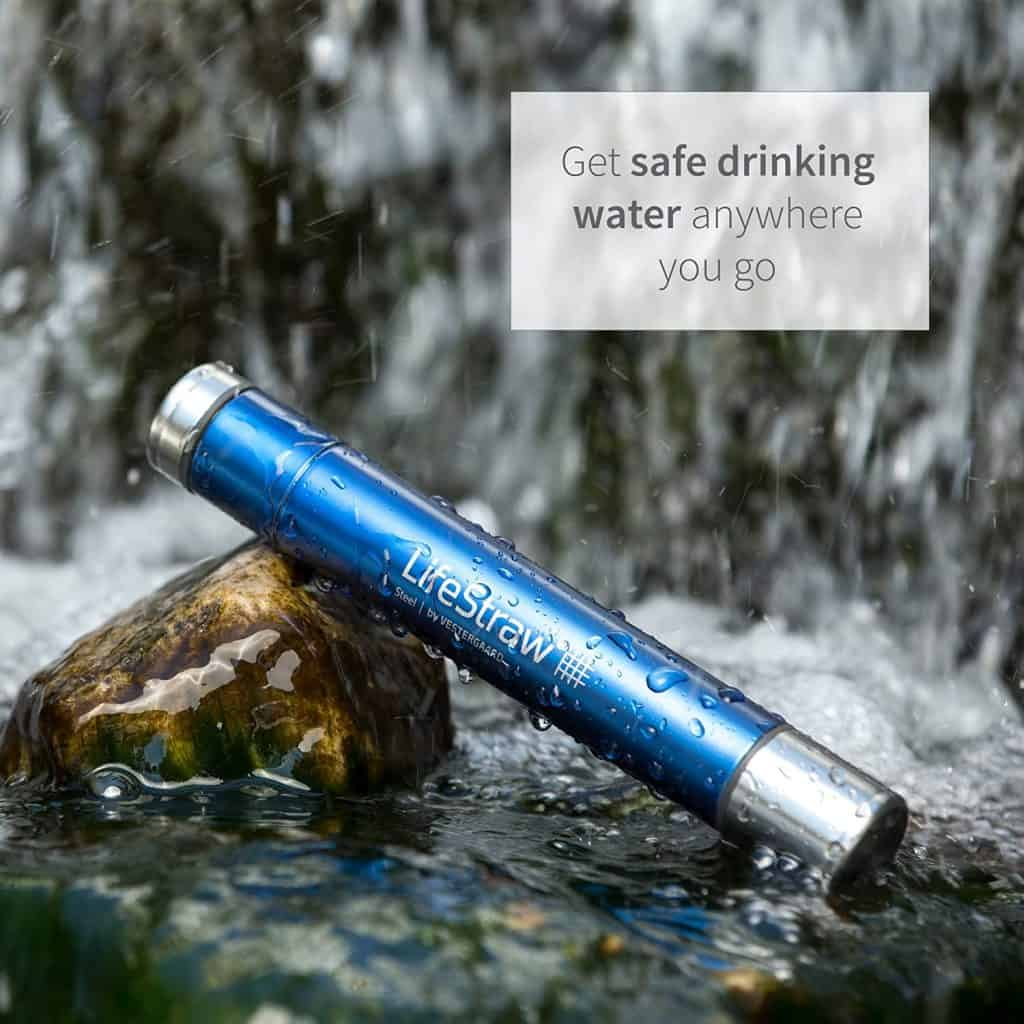 small gift for guy: LifeStraw