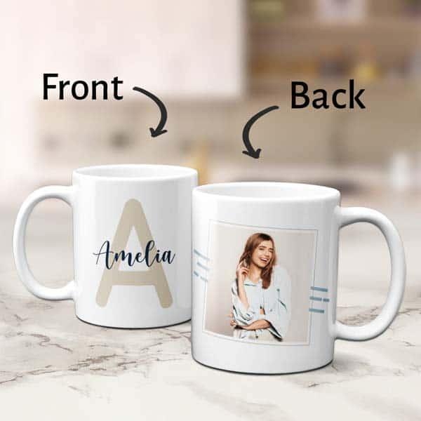 Name Mug With Initial