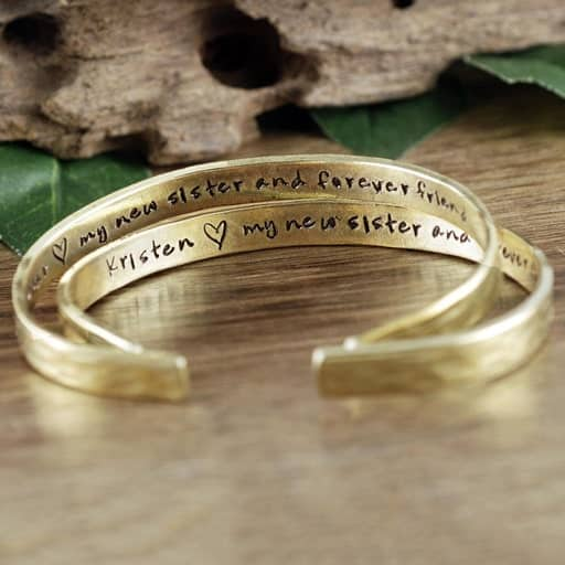 New Sister in Law Bracelet - future sister in law gifts