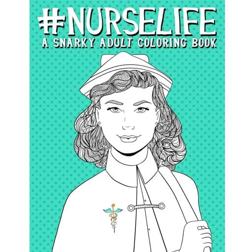 nurse graduation gift - Coloring Book