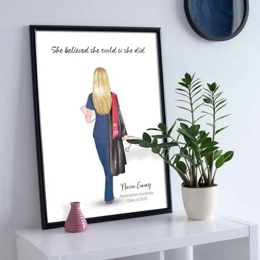 nurse graduation gift - Nurse Graduation Print