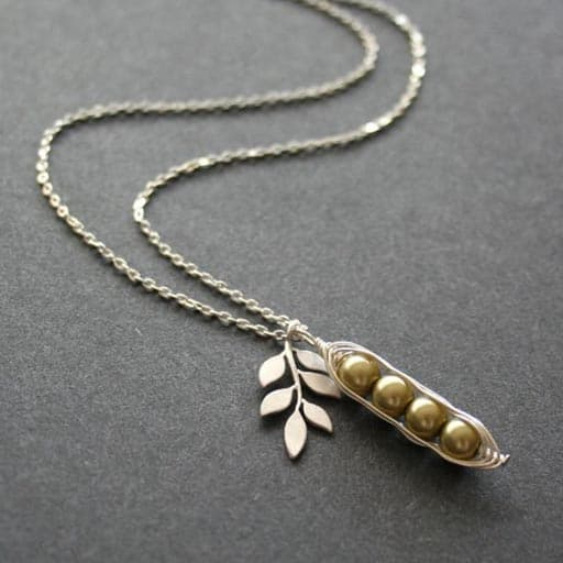 Peapod Necklace - going way gifts