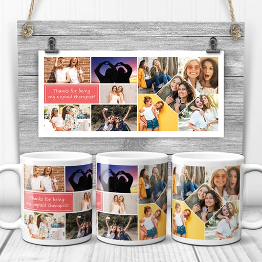 Photo Collage Mug - going away gifts