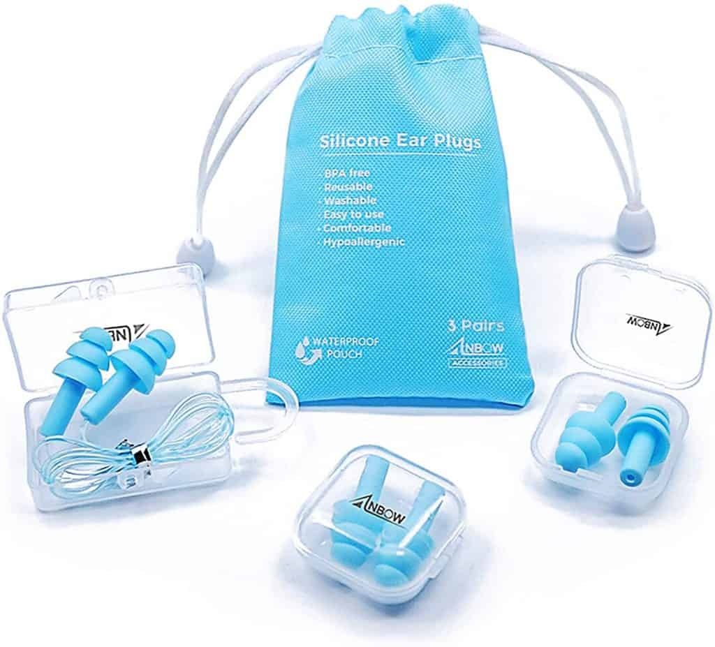 Reusable Silicone Ear Plugs