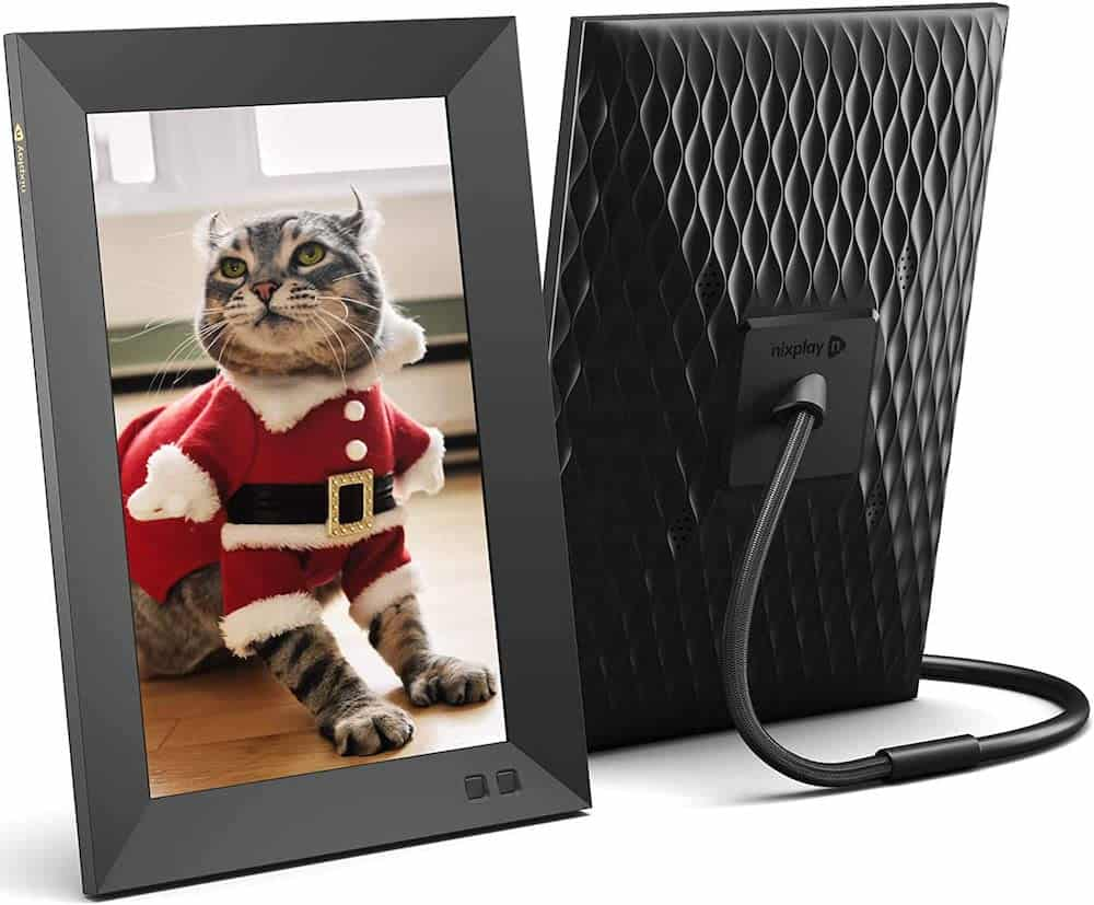Smart Digital Picture Frame - Dad Gift On Birthday