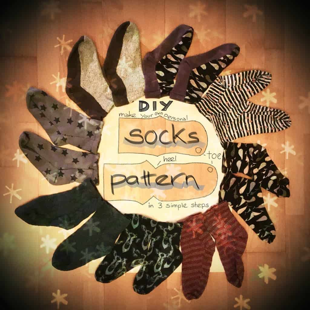 Sock Pattern (for Sewing Socks)