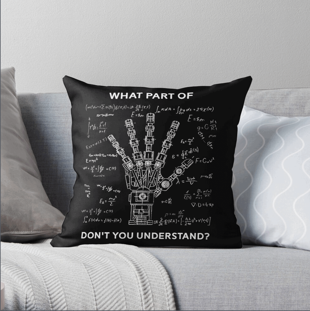gifts for engineers-pillow