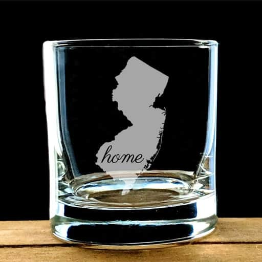 State Map Glass - best graduation gifts for her