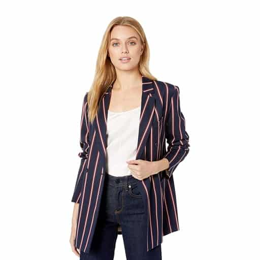 Striped Blazer - thoughtful college graduation gifts
