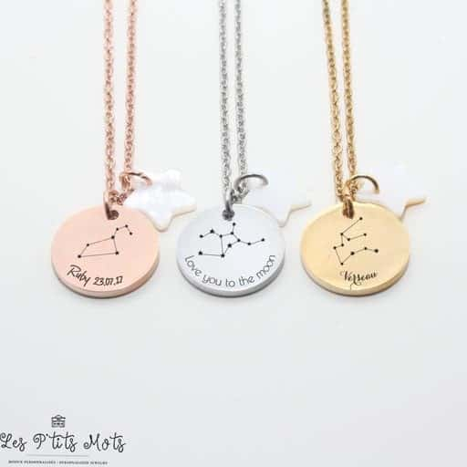 Zodiac Necklace - gifts for girlfriend