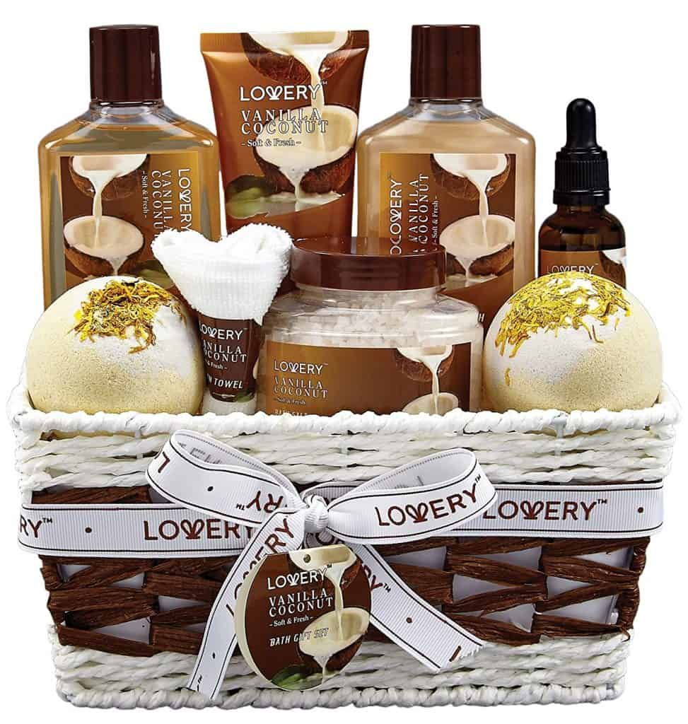 what to get the girl who has everything: bath and body gift basket