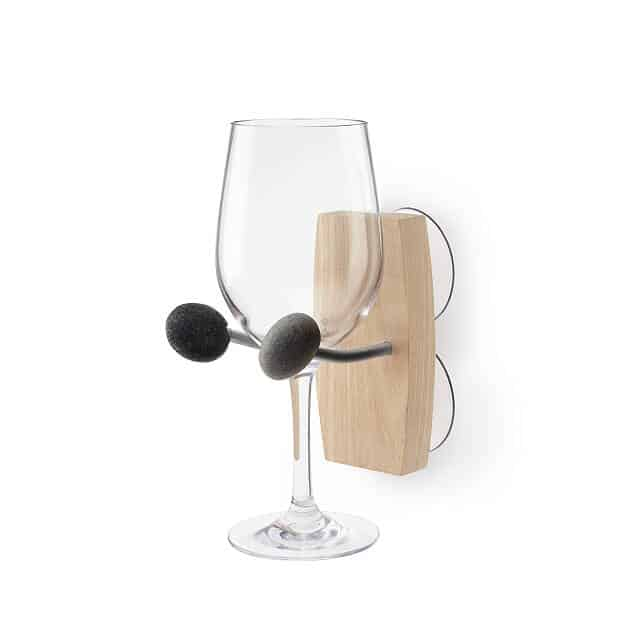 gifts for the woman who has everything: bathtime essentials wine holder