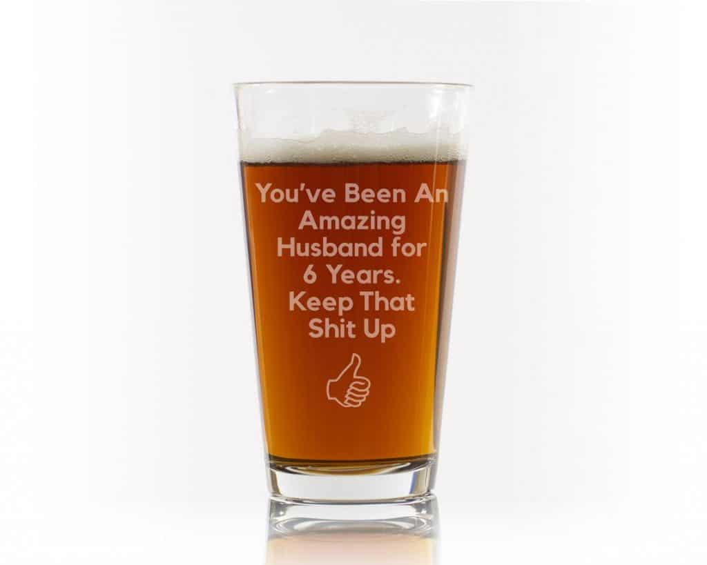 gifts for engineers - beer glass
