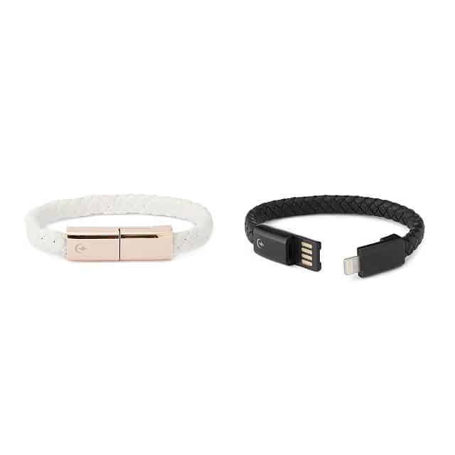 tech gifts for women: charging cord bracelet