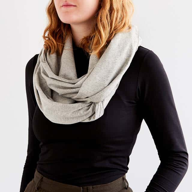 good gifts for wife: convertible infinity scarf