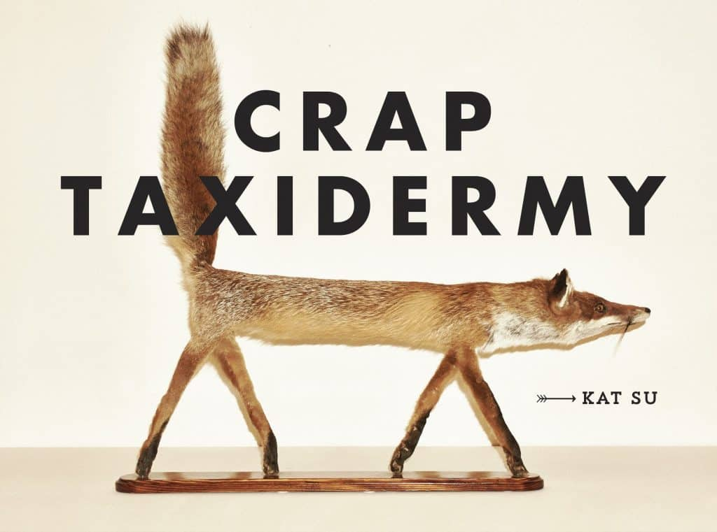 unique hunting gifts: crap taxidermy