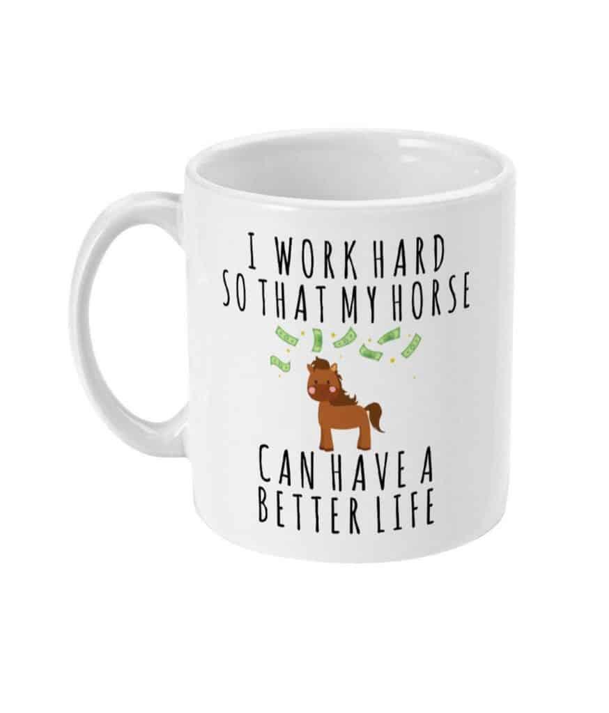 Cute mug - Equine gifts