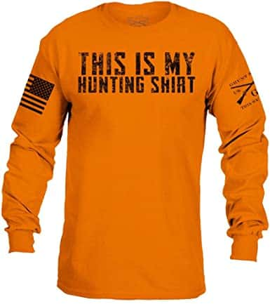 gifts for the hunter: this is my hunting shirt